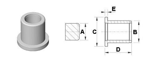 Buchsen mit einfachem bund - Welle mobel katalog ...